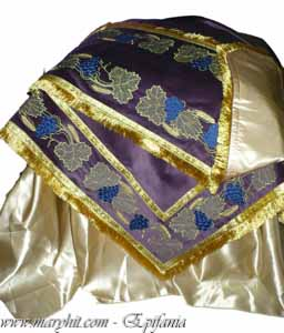 coatings , church, embroidery, velvet , cross, tablecloth, tablecloth altar , clothing, purple cloth , spice , grape